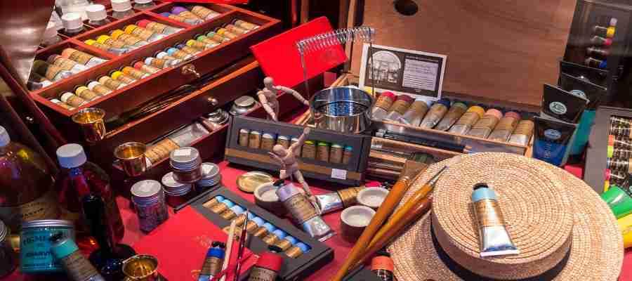 Grosshandel Künstlerbedarf